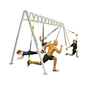 TRX Suspension Training Zone - S-Frame Package