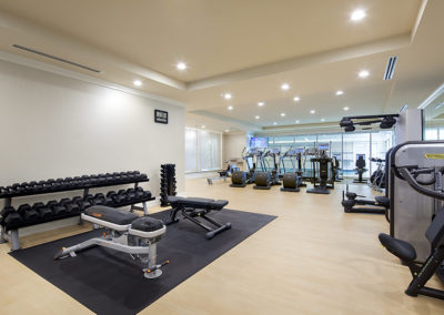 AFP-RXR-RitzCarlton-Technogym-Freeweights