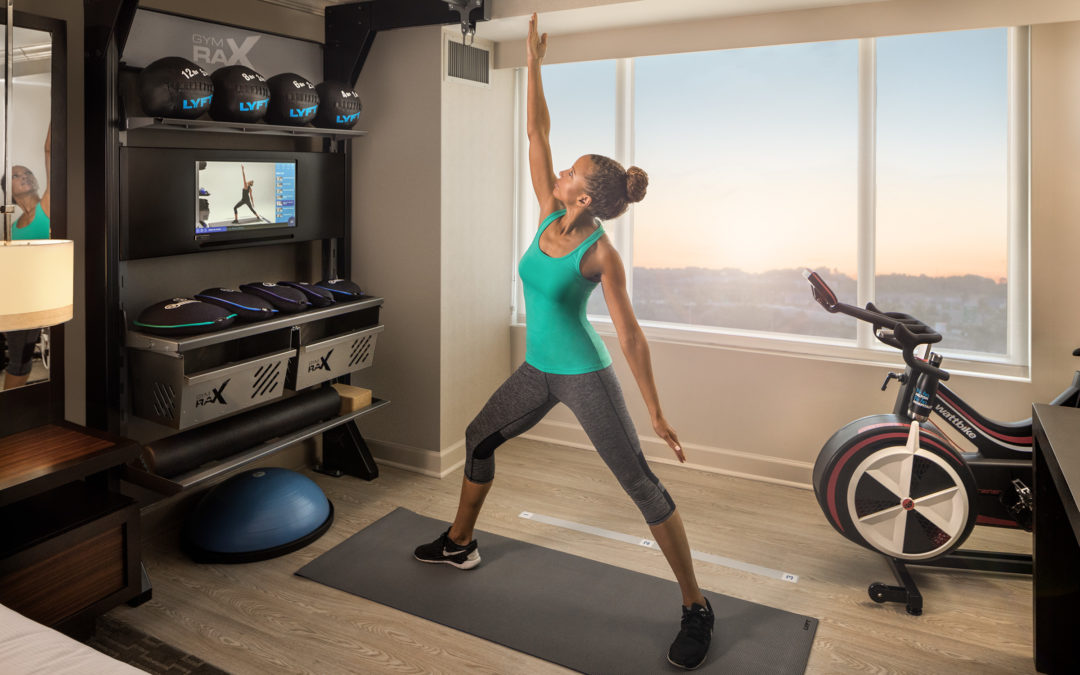 Hilton Appeals to Millennials with Work Perks Like In-Room Fitness