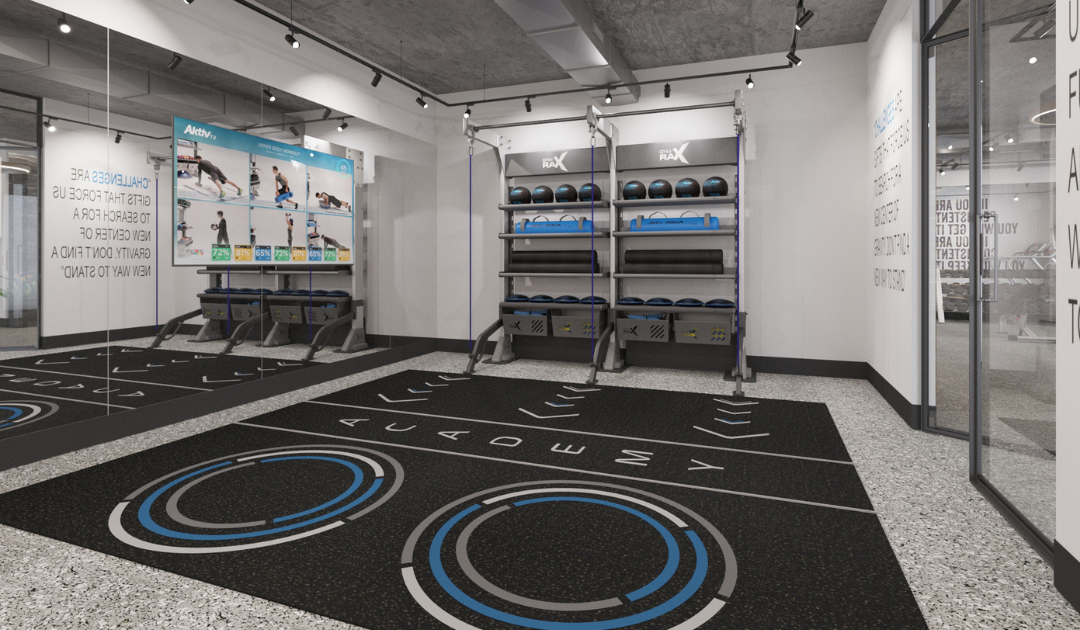 Academy Studio by Aktiv Solutions - Gym Rax Functional Training Zone - Gym Design