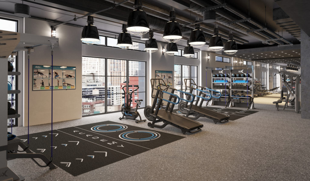 Academy Studio by Aktiv Solutions - Aktiv TV - Functional Training Zone - Gym Design
